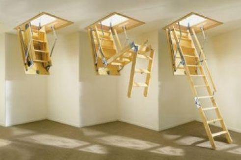 Yeni Nesil Çatı Merdivenleri