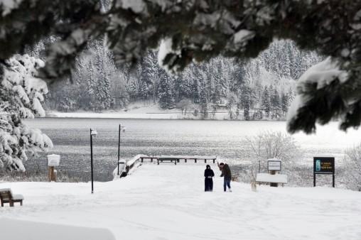 Abant'ta Kış Manzarası