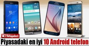 Piyasadaki En İyi 10 Android Telefon