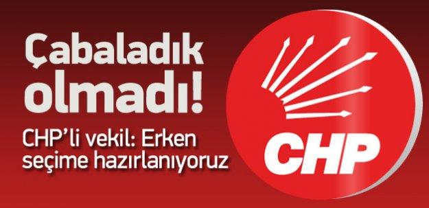 CHP'li Tuncay Özkan'dan Koalisyon Açıklaması! Seçime Gidiyoruz!