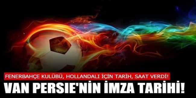 Fenerbahçe'den Van Persie İçin Yapılacak İmza Töreni İçin Açıklama Geldi!