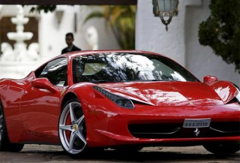 HALK'çı Ferrari!