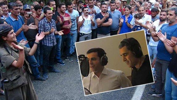 Demirtaş'ın Solisti DİYAR, DHA Aracılığıyla PKK'ye Moral Konseri Verdi