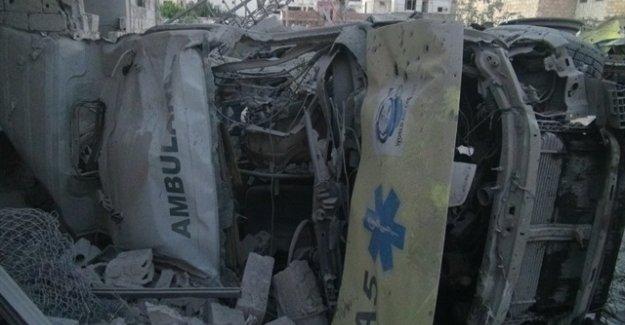 """Esed Bölgenin Tek Hastanesi Olan """"Mecmel Tıbbi"""" Sahra Hastanesini Vurdu"""