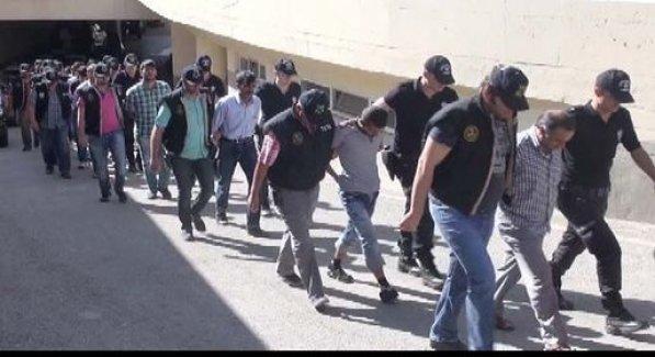 Gaziantep'te YDG-H''ye Şok Operasyon! 12 Tutuklama