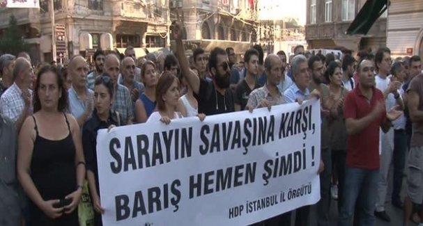 İçinde HDP'li Vekillerinde Buludnuğu Eyleme Polis İzin Vermedi