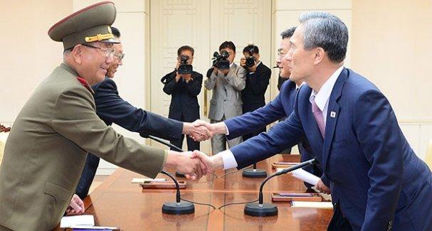 Kuzey ve Güney Kore Anlaştı! Savaş Yok
