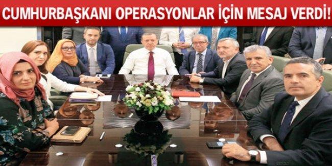 Cumhurbaşkanı Erdoğan'dan Operasyon Açıklaması Geldi! ASLA OLMAZ