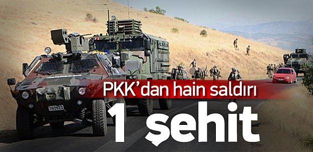 Hakkari Şemdinli'de Hain Saldırı! 1 Şehit!
