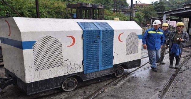 Maden Kazalarına Çok Güzel Önlem! Vagon Kurtarma Aracı