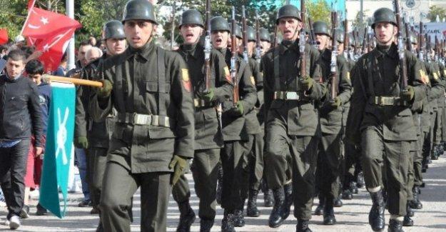 Bolu'da 29 Ekim Cumhuriyet Bayramı Coşkuyla Kutlandı