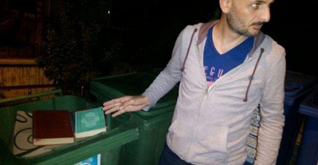 Bolu'da Bir Çöp Konteynır'ında Kuran-ı Kerim Bulundu