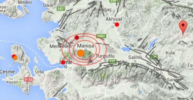 Manisa'da Meydana Gelen Depremde Korkulan Olmadı