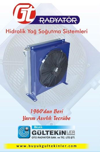 Hidrolik Yağ Soğutucu - Hidrolik Soğutucular