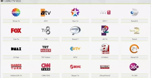 Canlı Tv izle – Canlı Yayınları Kesintisiz izle