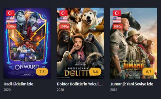 HD Kalitesinde Filmler