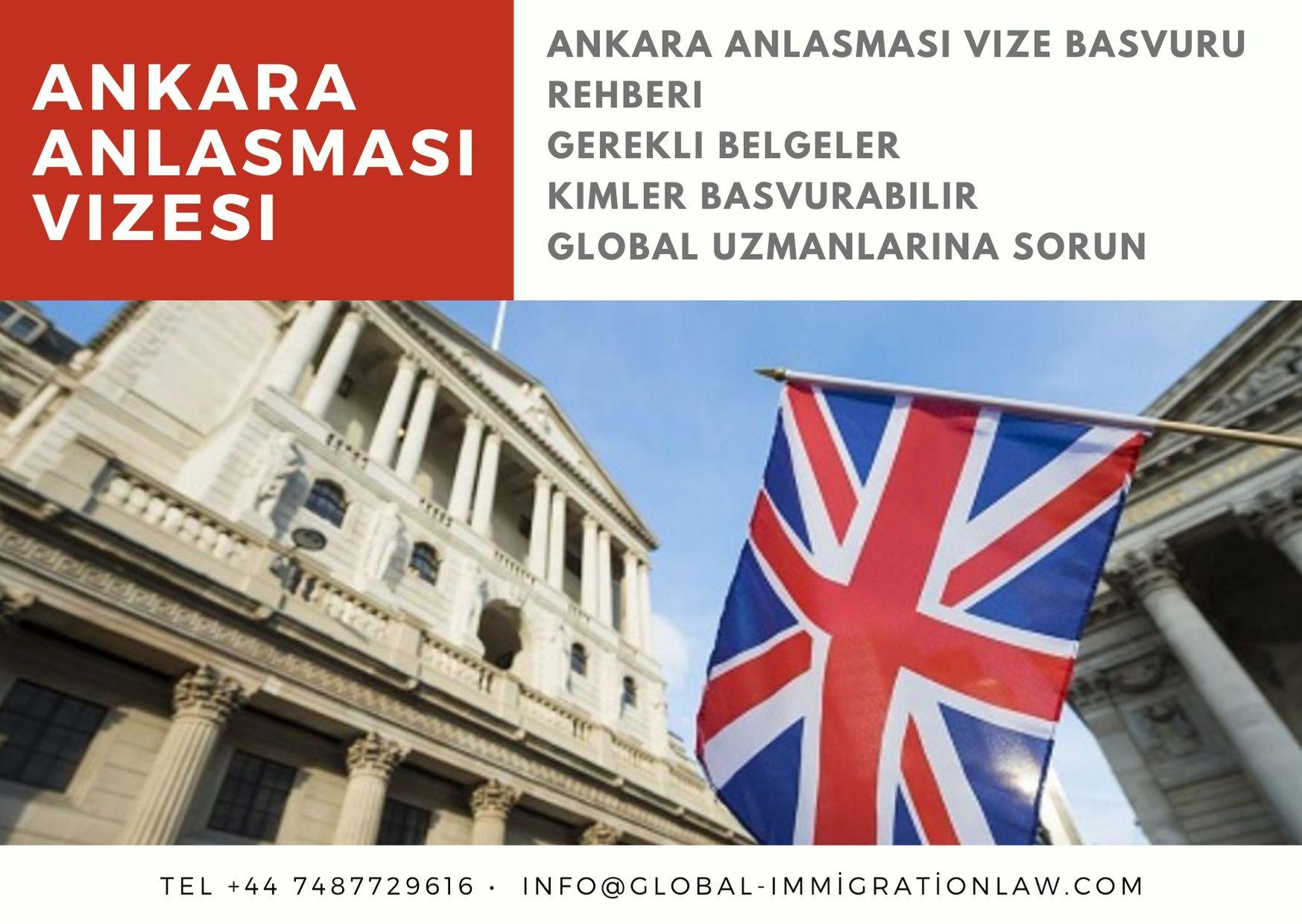 İngiltere'de Ankara anlaşması vizesi ile iş nasıl kurulur