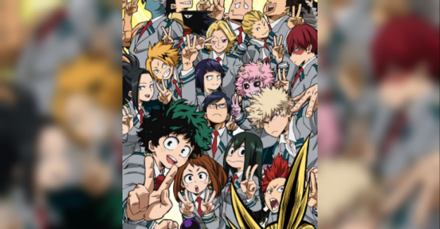 Efsane Olmaya aday Bir Anime Boku no hero academia