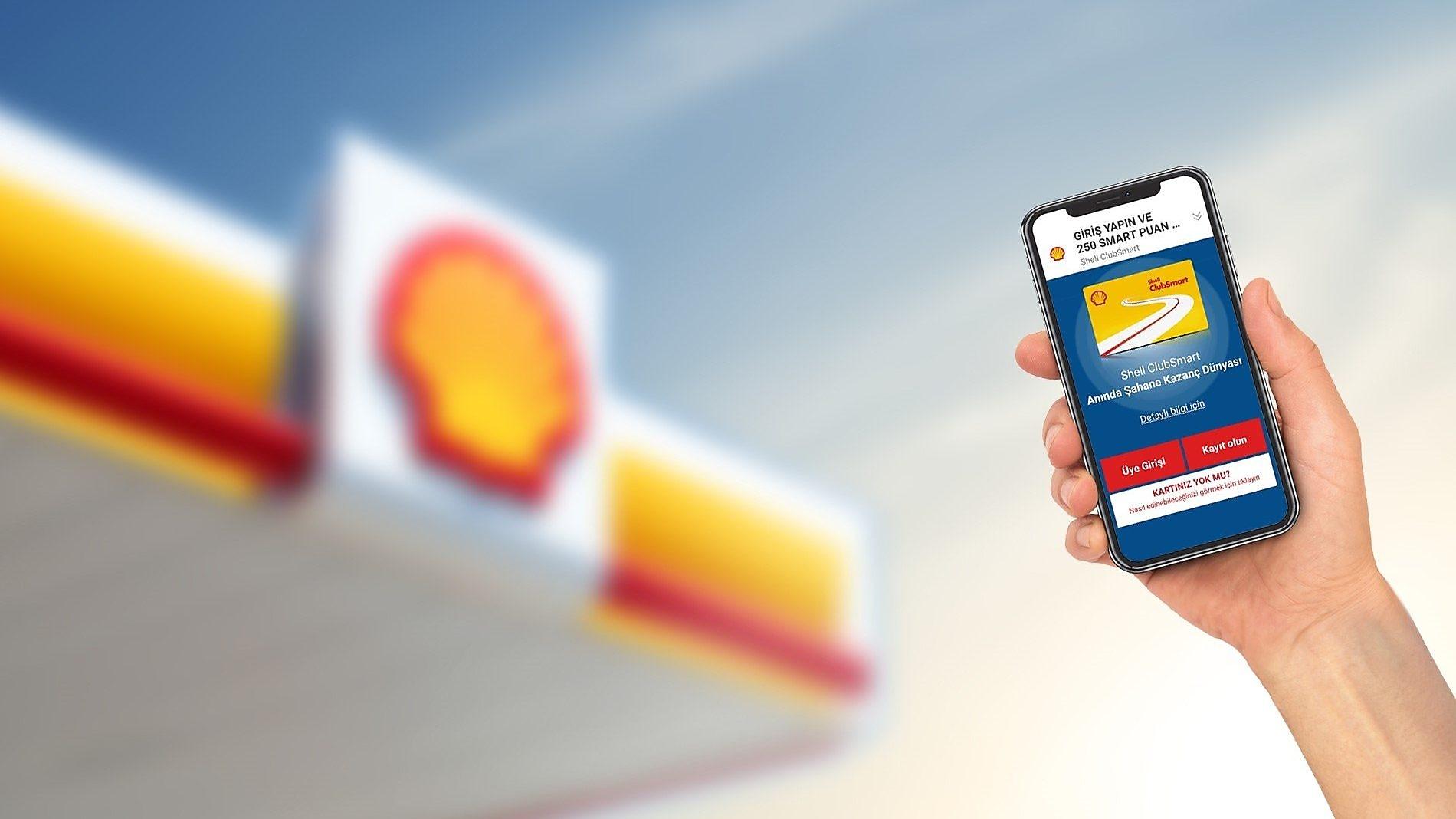 Shell Smart Kart Kayıt İşlemleri