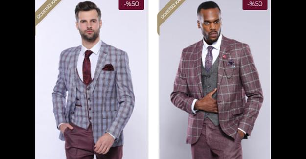 Wessi gri takım elbise modelleri