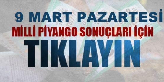 9 Mart Milli Piyango Sonuçları (Bilet Sorgulama) / MPİ GOV TR 342342