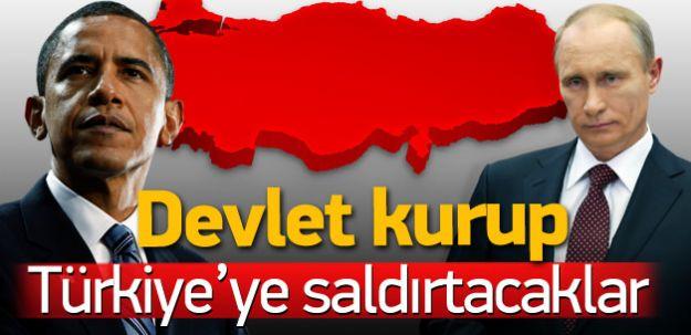 ABD ve Rusya Anlaştı! Ülke Kurup Bahar Ayında Türkiye'ye Kişnetecekler!