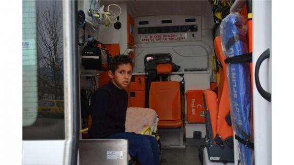 Ailenin 10 Yaşındaki Çocuğu 5 Kişiyi Ölümden Kurtardı