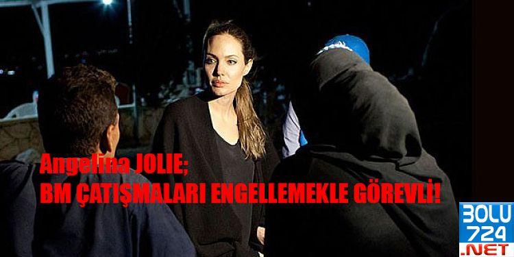 Angelina Jolie BM Güvelik Konseyine Ses Getiren 3 Talep Bildirdi!