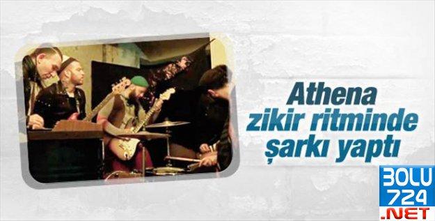 ATHENA Zikir Eşliğinde Rock Şarkıya Klip Çekti