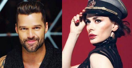 Ayşe Hatun Önal ve Ricky Martin