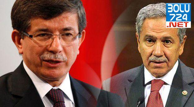 Ahmet Davutoğlu Bülent Arınç'a Taziye Ziyaretine Gitti