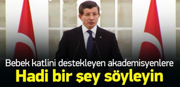 Başbakan Davutoğlu Akademit İhanete Sert Cevap Verdi!