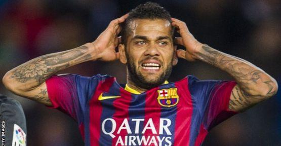 Daniel Alves'in Gönlü Barcelona'da