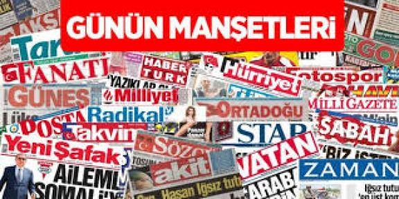 Gazete Manşetleri Oku Takip Et (24 ŞUBAT Salı) 24.02.2015 Gazete Haberleri