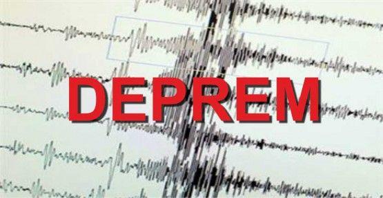 Gaziantep Nurdağı'nda Korkutan Deprem (4,6 Büyüklüğünde Deprem)