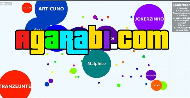 İnternetten Oyun Oynamanın Keyfini Agario İle Yaşayın