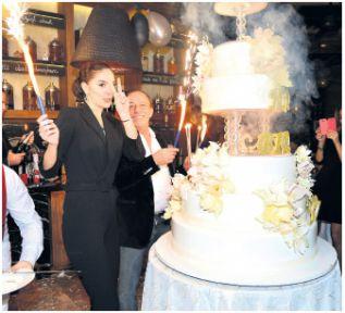 İş Adamı Ali Ağaoğlu Rus Sevgilisine 150 Bin$ Doğum Günü Sürprizi