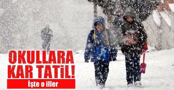 İstanbul'da Yoğun Kar Yağışı - İstanbulda 18 Şubat Okullar Tatil Olacak Mı? Detaylar