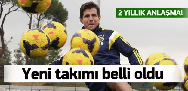 İşte Emre Belözoğlu'nun Yeni Takımı!