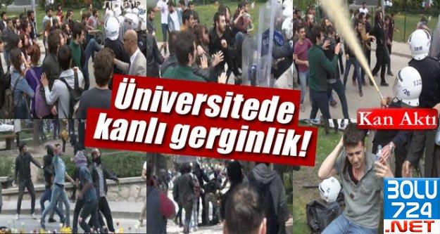 Anadolu Ü. Külliyesinde Kavga Çıktı KAN AKTI!!