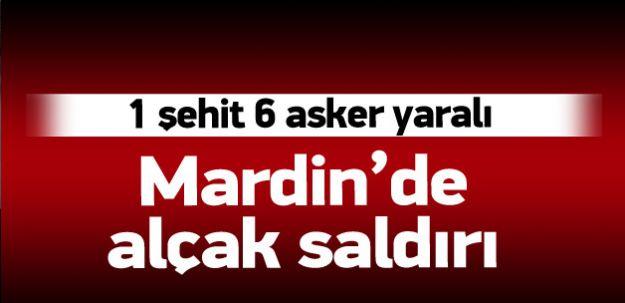 Mardin'de Hain Saldırı! 1 Şehit Çok Sayıda Yaralı Var