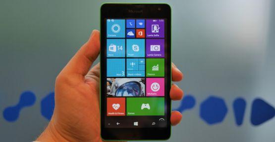 Microsfot Lumia 535 En Çok Kullanılan Telefonlar Arasında