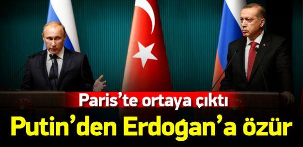 Putin, Cumhurbaşkanı Erdoğan'dan Özür Diledi!