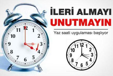 Saatler Ne Zaman İleri Alınacak? Yaz Saati Uygulaması Ne Zaman Olacak Haberleri