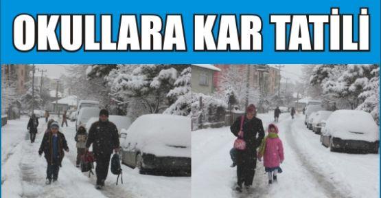 Samsunda Okullar Yarın Tatil Mi? 17 Şubat Samsunda Kar Tatili / Samsun'da Okullar Kaç Gün Tatil Oldu