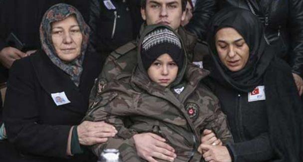 Şehit polis memuru Ahmet Atilla Güneş son yolculuğuna uğurlandı!