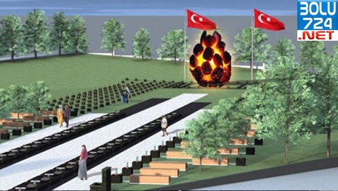 Soma Şehitliğinde Yanan Kömür Heykeli Kaldırıldı Bakın Yerine Ne Konuldu!