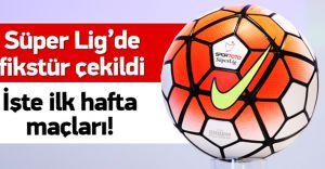 2015-2016 Süper Lig Fikstürü Çekildi! İşte FB-GS-BJK Derbi Tarihleri( GALERİ)