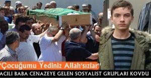 Acılı Baba Cenazeye Katılan SOSYALİST Grubu Kovdu! ''ALLAHSIZLAR''