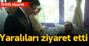 Başbakan Ahmet Davutoğlu Urfa'da Yaralıları Ziyaret Ediyor